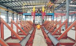 门型埋弧焊生产线