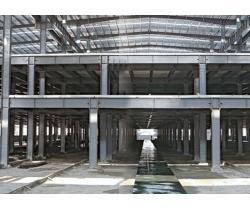 东莞欧科制冷设备有限公司大跨度钢结构厂房