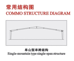单山型单跨结构